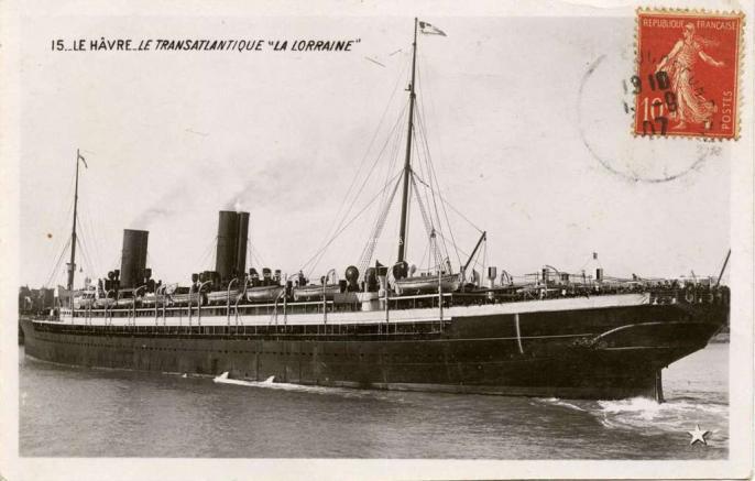 15 - Le Hâvre - Le Transatlantique La Lorraine