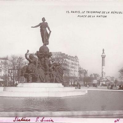 15 - Le Triomphe de la République Place de la Nation