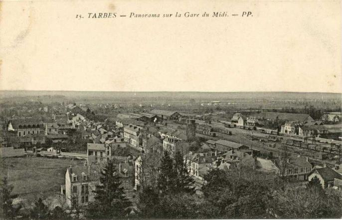 15 - Panorama sur la Gare du Midi