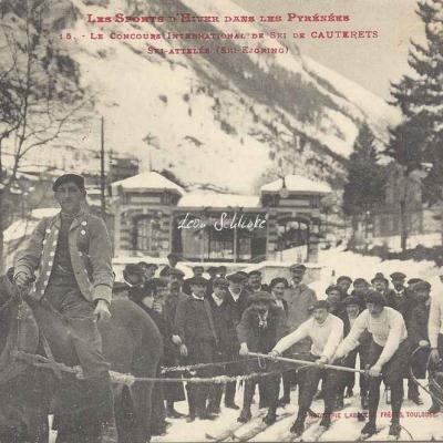 15 - Ski-attelés (Ski-Kjoring)