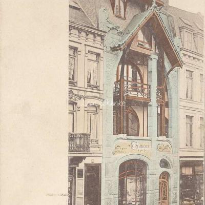 15 - Style Guimard - Maison de Mr Coilliot à Lille