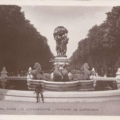 150 - Le Luxembourg - Fontaine de Carpeaux