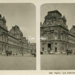 150 - Paris - Les Tuileries, vue d'ensemble
