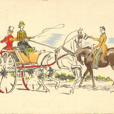 1502 - Chevaux & Attelages