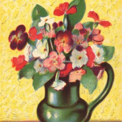 1515 - Fleurs en pot