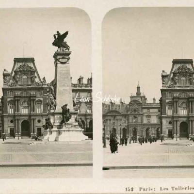 152 - Paris - Les Tuileries, Place du Carrousel