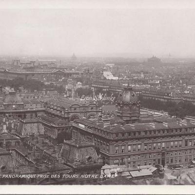 152 - Vue panoramique prise des Tours de Notre-Dame