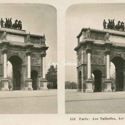 153 - Paris - Les Tuileries - Arc de Triomphe du Carrousel