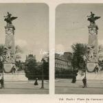 154 - Paris - Place du Carrousel, monument de Gambetta