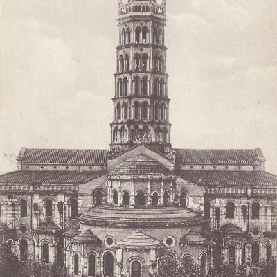 16 - Abside de la Basilique Saint-Sernin