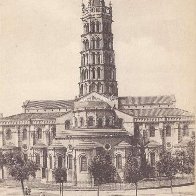 16 - Abside de la Basilique  St-Sernin