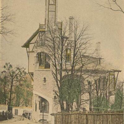16 - Style Guimard - Castel Henriette à Sèvres