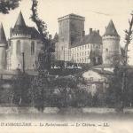 16-La Rochefoucauld - Le Château (LL 98)