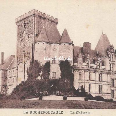 16-La Rochefoucauld - Le Château (MFIL)