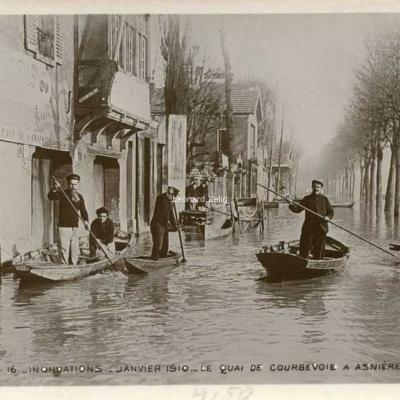 16 - Le Quai de Courbevoie à Asnières