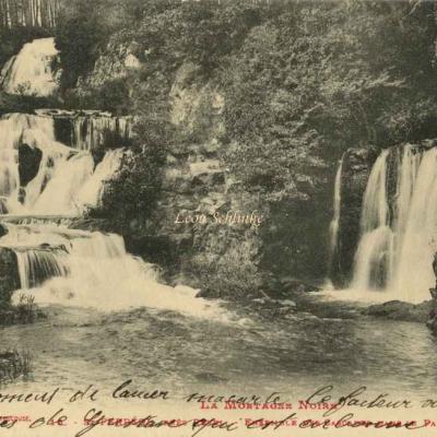 16 - St-Ferréol, ensemble des Cascades dans le Parc
