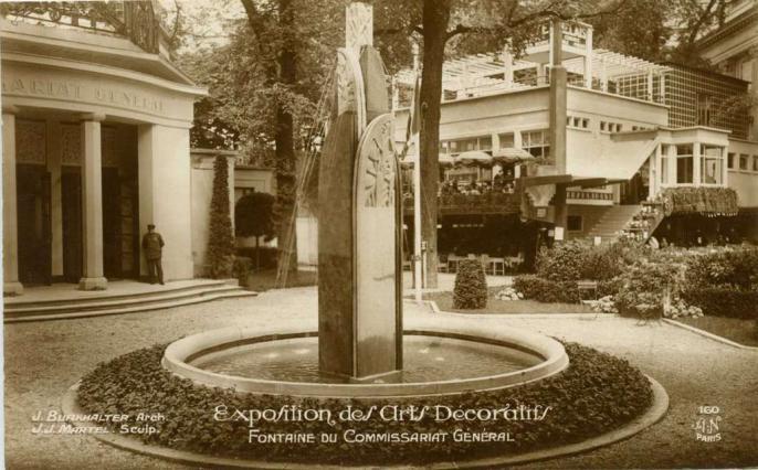 160 - Fontaine du Commissariat Général