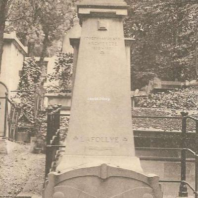160 - Laffolye, célèbre architecte du Château de Versailles, de Pau, ... 1828-1891