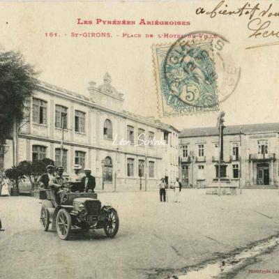 161 - Saint-Girons - Place de l'Hôtel de Ville