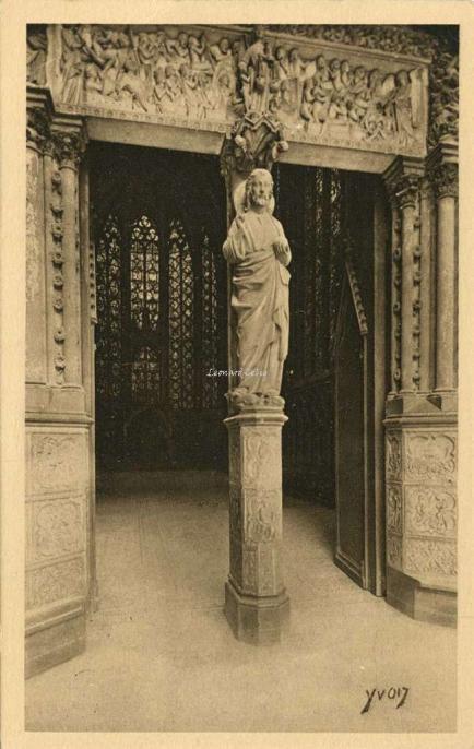 167 - Sainte-Chapelle - Porte haute