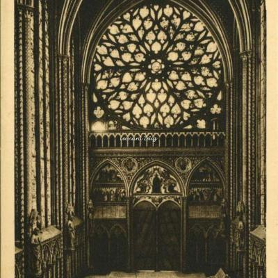 168 - Sainte-Chapelle - Grande Rose