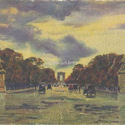 17 - L'Avenue des Champs-Elysées