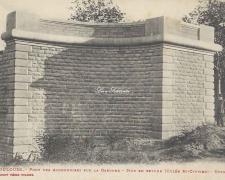 17 - Mur en retour côté Saint-Cyprien (Octobre 1907)