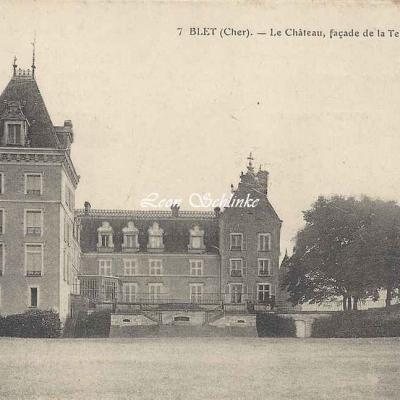 18-Blet - Le Château (E.Maquaire à Bourges)