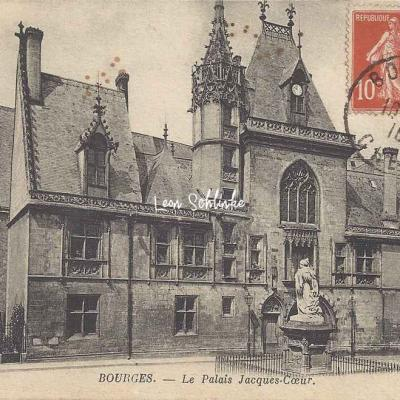 18-Bourges - Le Palais de Jacques-Coeur (ND 3)