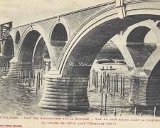18 - Côté amont (Décembre 1907)