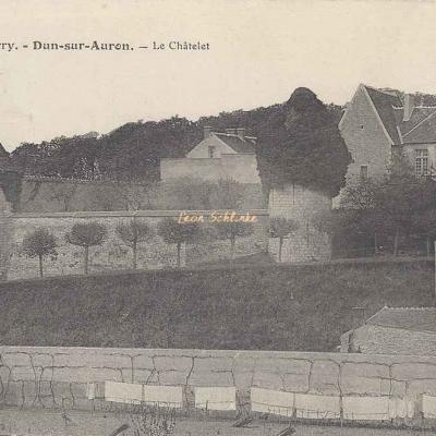 18-Dun-sur-Auron - 480 - Le Châtelet (A.Auxenfans)