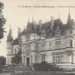 18-Farges-Allichamps - 305 En Berry Auxenfans - Château de la Brosse