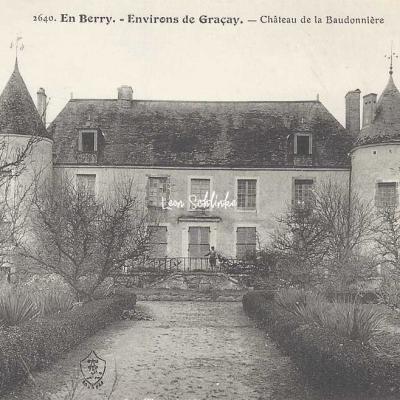 18-Graçay - 2640 En Berry Auxenfans - Château de la Baudonnière