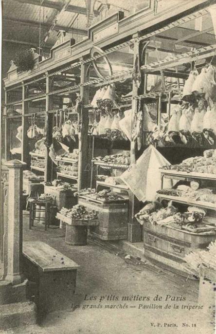 18 - Les grands marchés - Pavillon de la triperie
