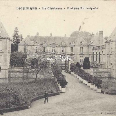 18-Lignières - Le Château (A.Renaud)