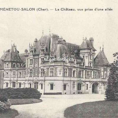 18-Ménetou-Salon - Le Château (EMB 28)
