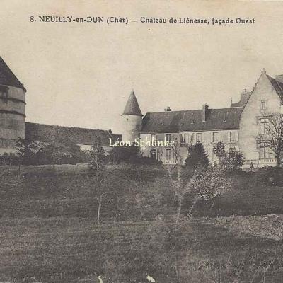 18-Neuilly-en-Dun - Château de Liénesse (EMB 8)