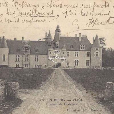 18-Plou - Château de Castelnau (Auxenfans 66)