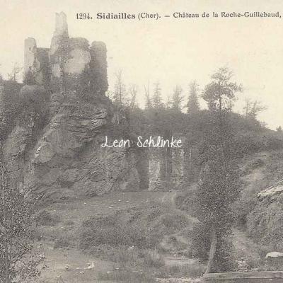 18-Sidiailles - Château de la Roche-Guillebaud (Auxenfans 1294)