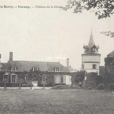 18-Vornay - 2610 En Berry Auxenfans - Château de La Chaise