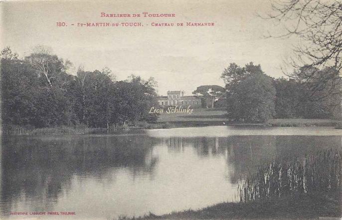 180 - Saint-Martin-du-Touch - Château de Marmande