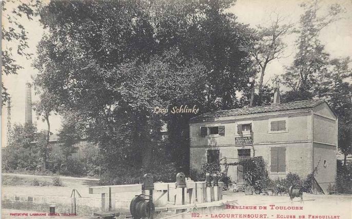 182 - Lacourtensourt - Ecluse de Fenouillet