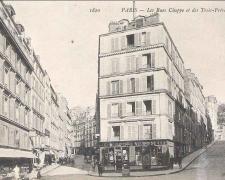 ND 1820 - PARIS - Les Rues Chappe et des Trois-Frères