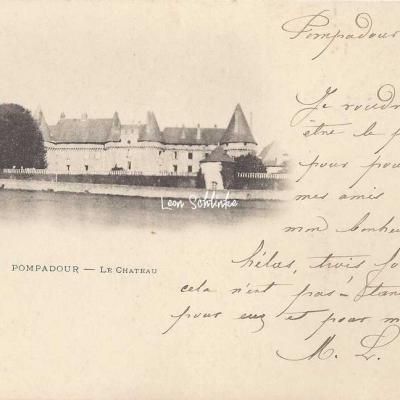 19-Arnac-Pompadour - Le Château (xxx à Lubersac)