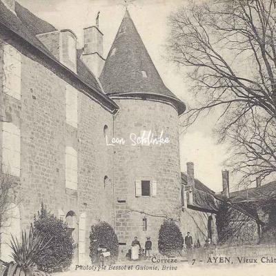 19-Ayen - Vieux Château au Bas-Ayen (Bessot & Guionie 7)