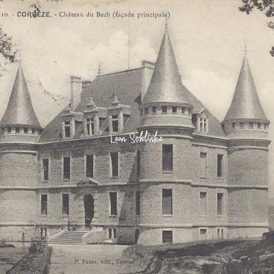 19-Corrèze - 10 - Château du Bech (M.P., Brive)