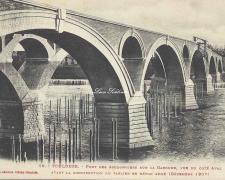 19 - Côté aval (Décembre 1907)