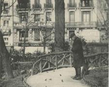 19 - Le Charmeur d'Oiseaux au Square du Capitole