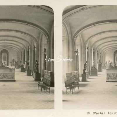 19 - Paris - Louvre - Galerie Denon
