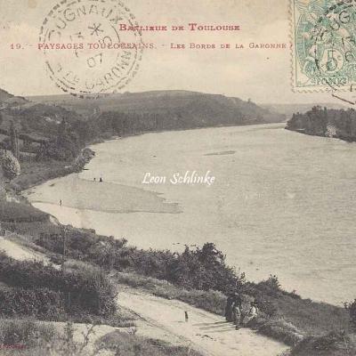 19 - Paysages Toulousains - Les Bords de la Garonne